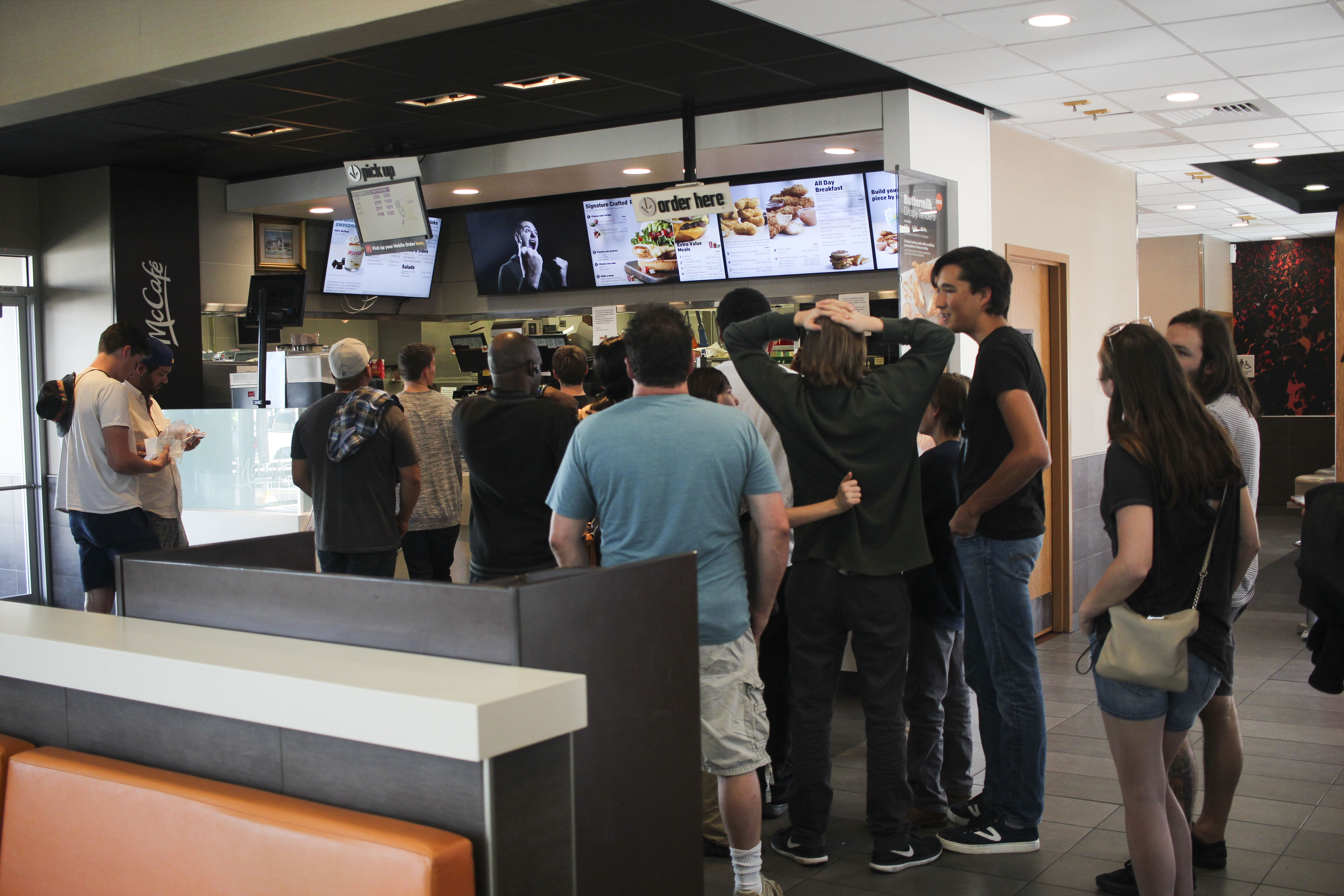 The sad people of McDonald's who didn't get any Szechuan ...