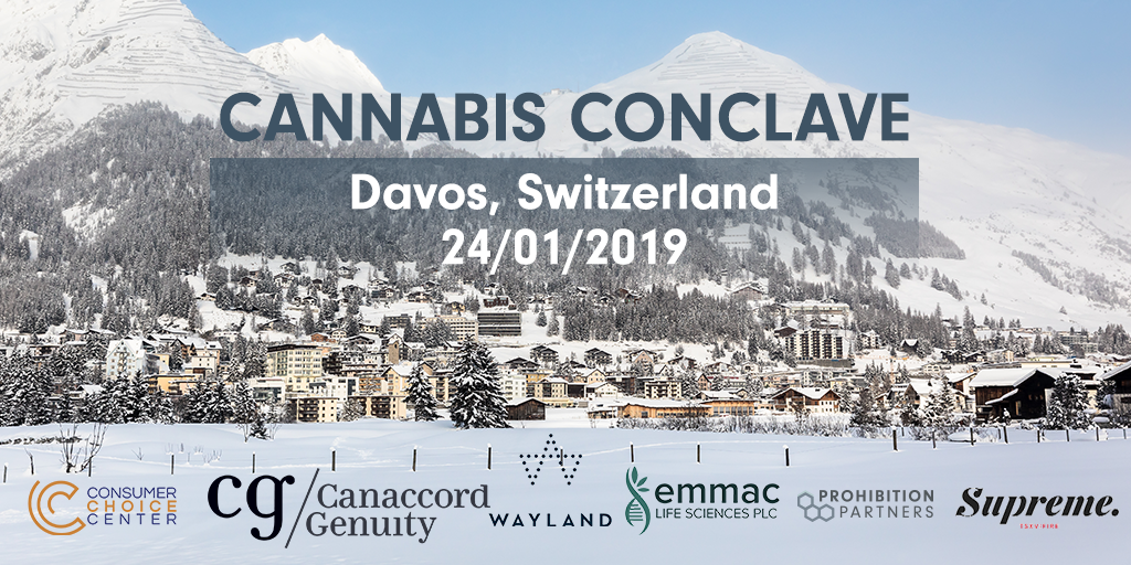 flyer - cannabis conclave - world economic forum