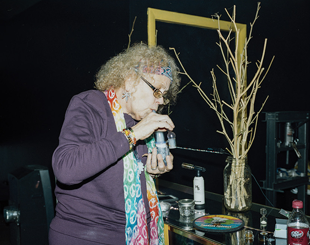 Dabbing Granny's parabolic rise to fame lifts her from home