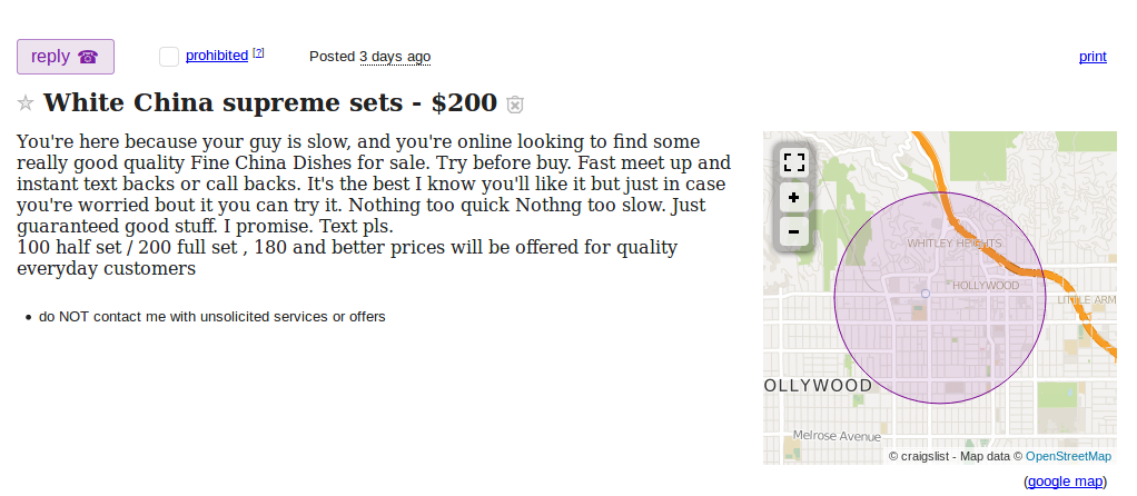 The deadliest drug in America is for sale on Craigslist in