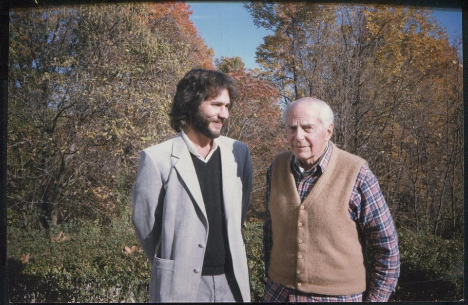 photo - Robert Forte with Gordon Wasson