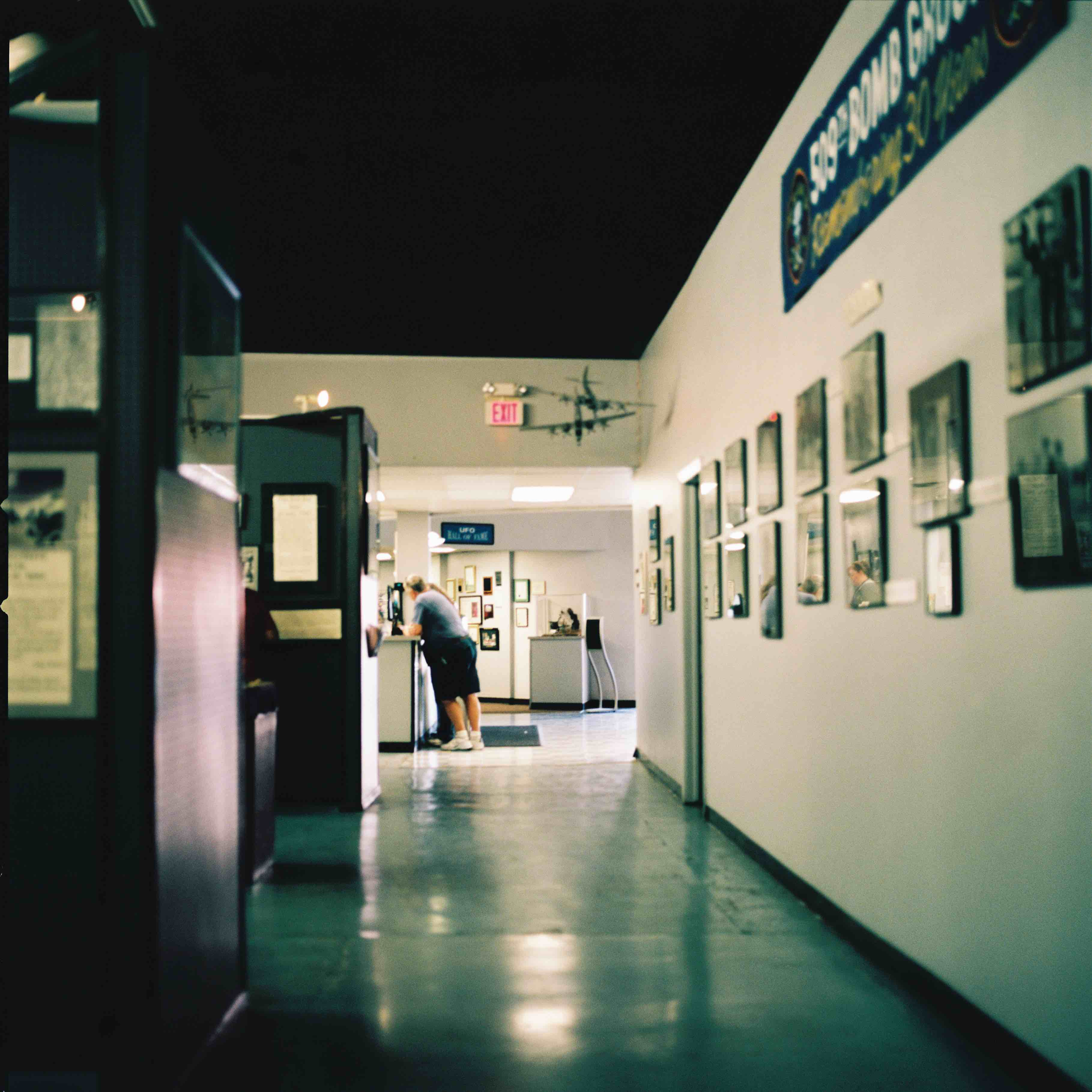photo - Roswell, New Mexico museum lobby