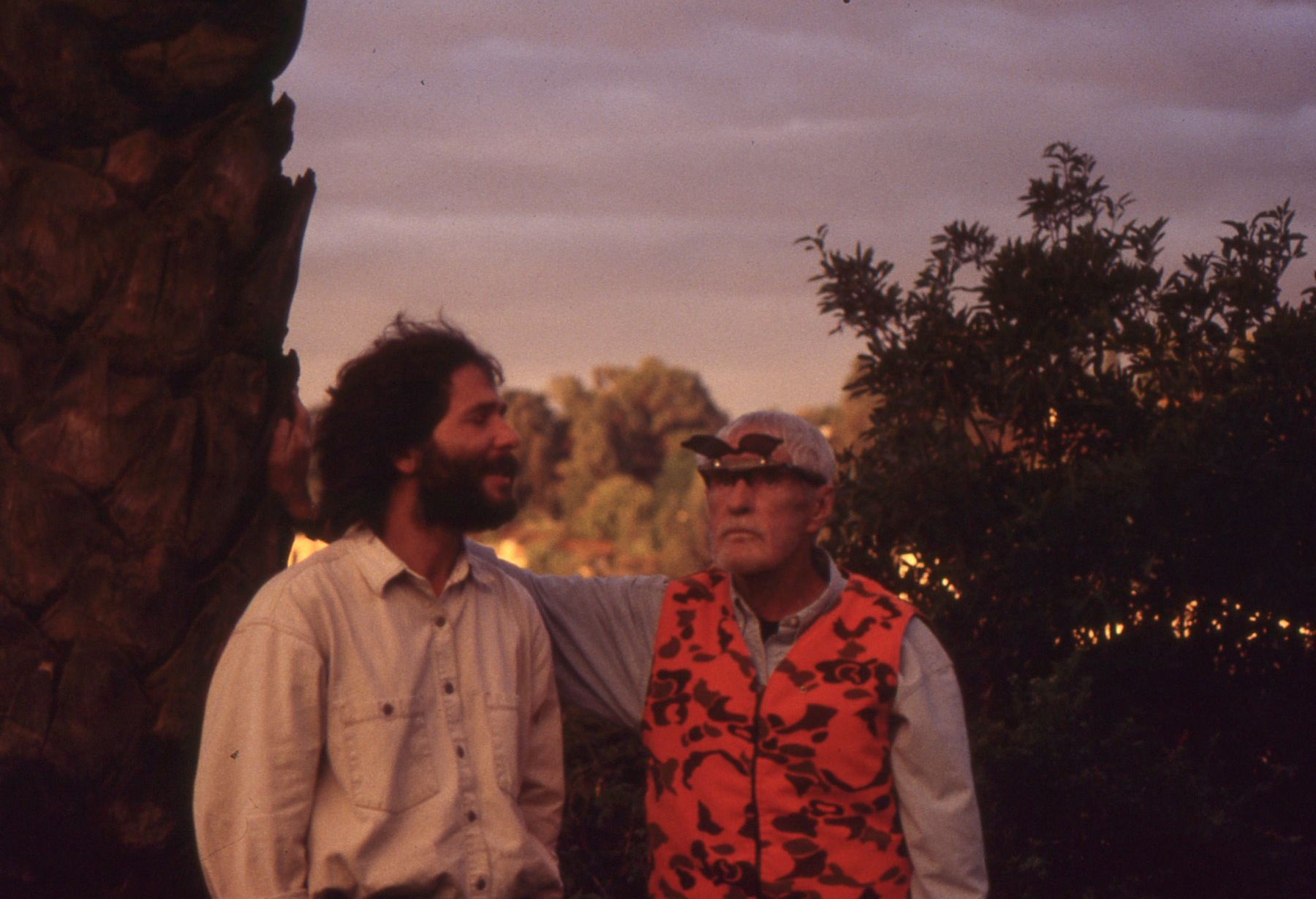 photo - Robert Forte and Tim Leary