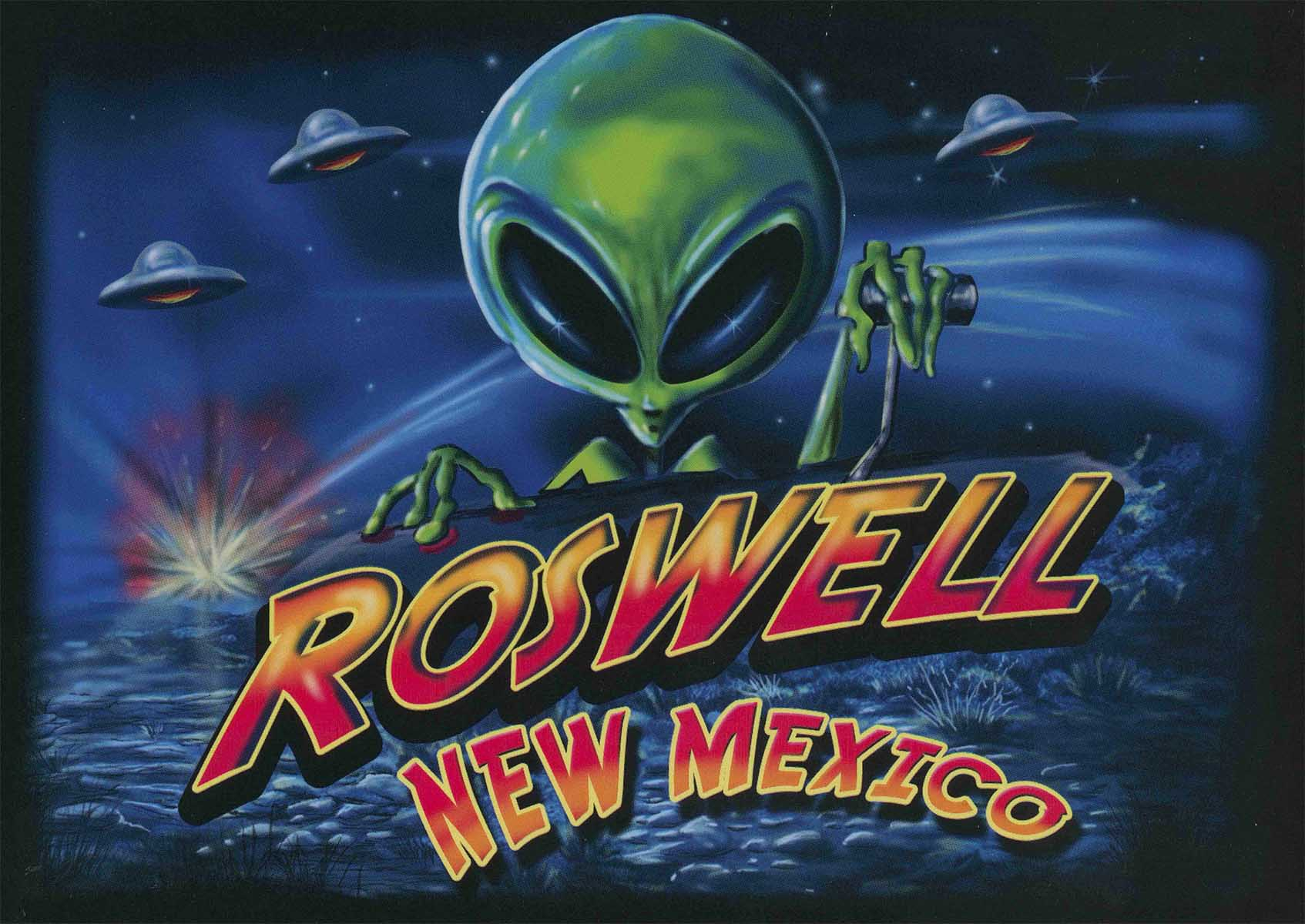 graphic - roswell new mexico poster