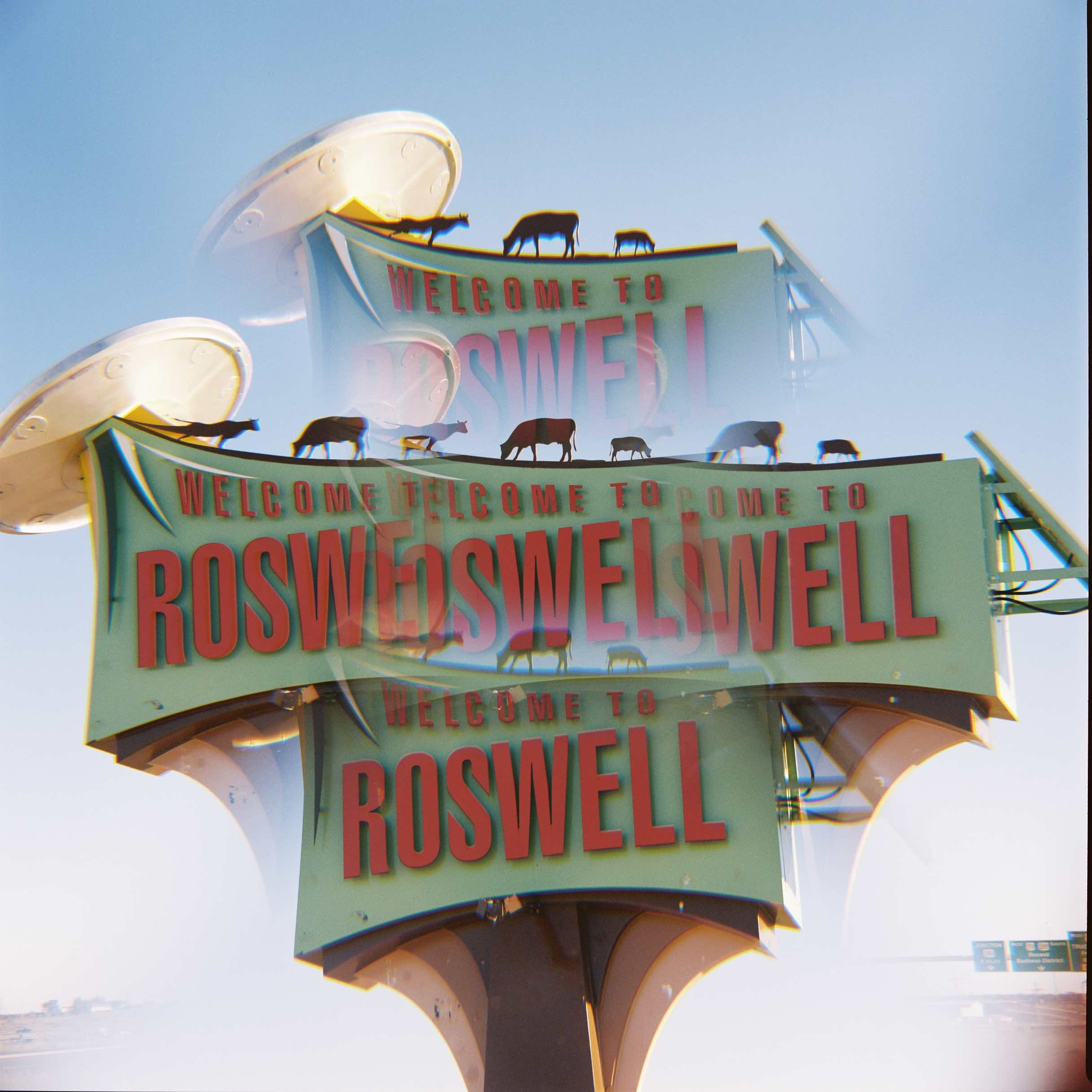 photo - roswell new mexico - welcome sign