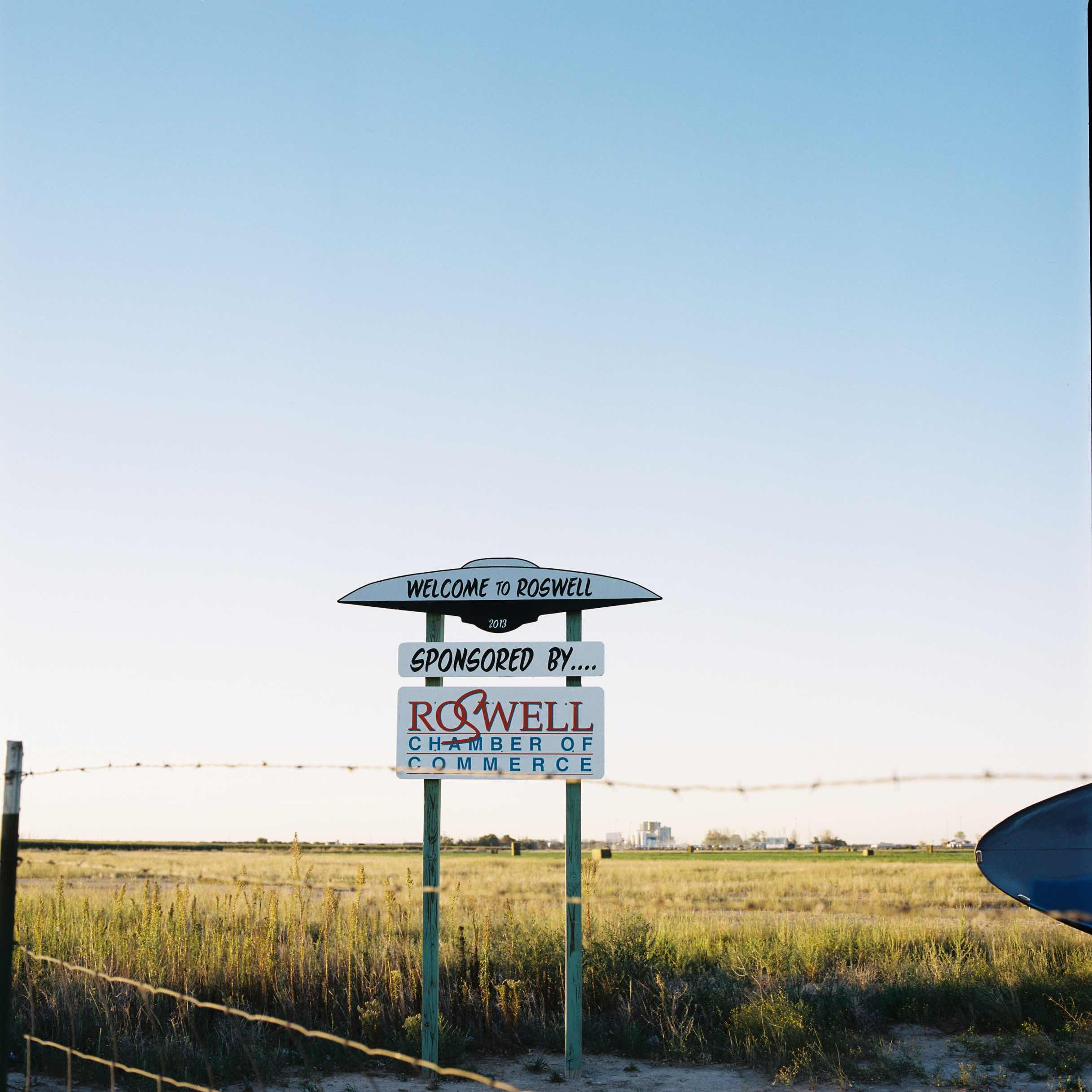 photo - welcome to roswell