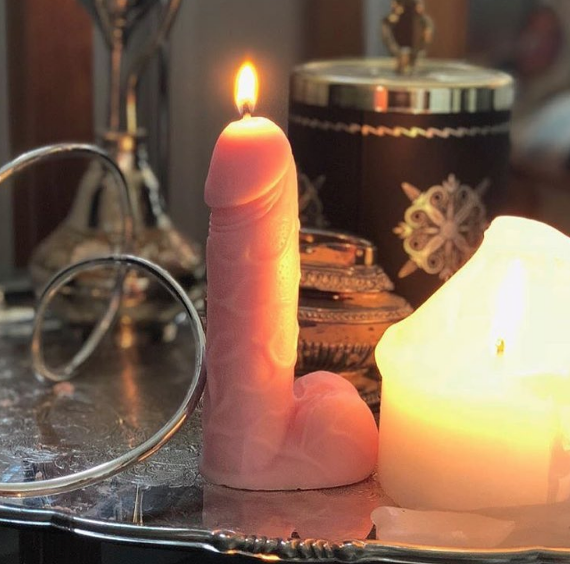 Cheesy Cock Scented Candle