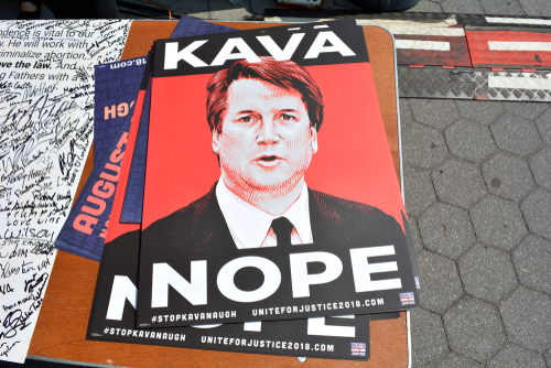 photo - protests against kavanaugh