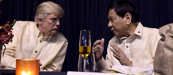 photo - President Trump and Duterte