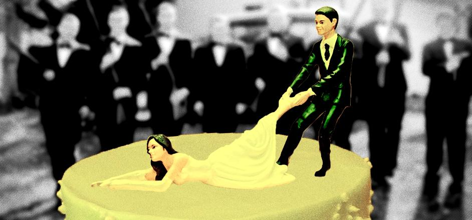 The Fucked Up Origins Of Modern Wedding Traditions Rooster Magazine