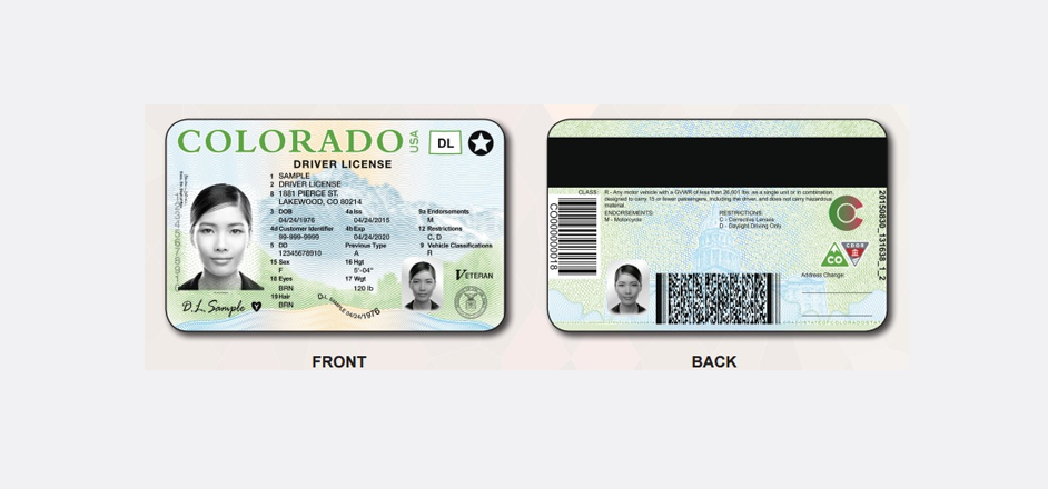 Damn, the new Colorado driver license design makes you look so ...: www.therooster.com/blog/damn-new-colorado-driver-license-design...
