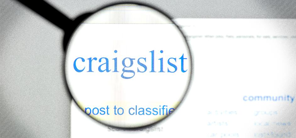 Can you find sex on craigslist