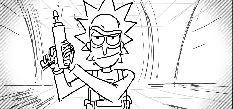 An Inside Look At Rick  Morty Through The Secrets Of A Storyboarder